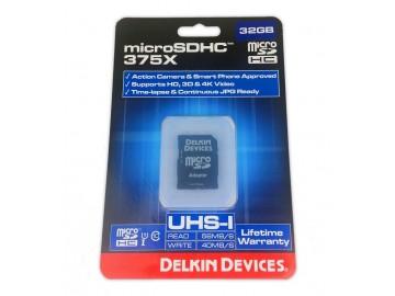 Delkin 32gb Micro SDHC Memory Card
